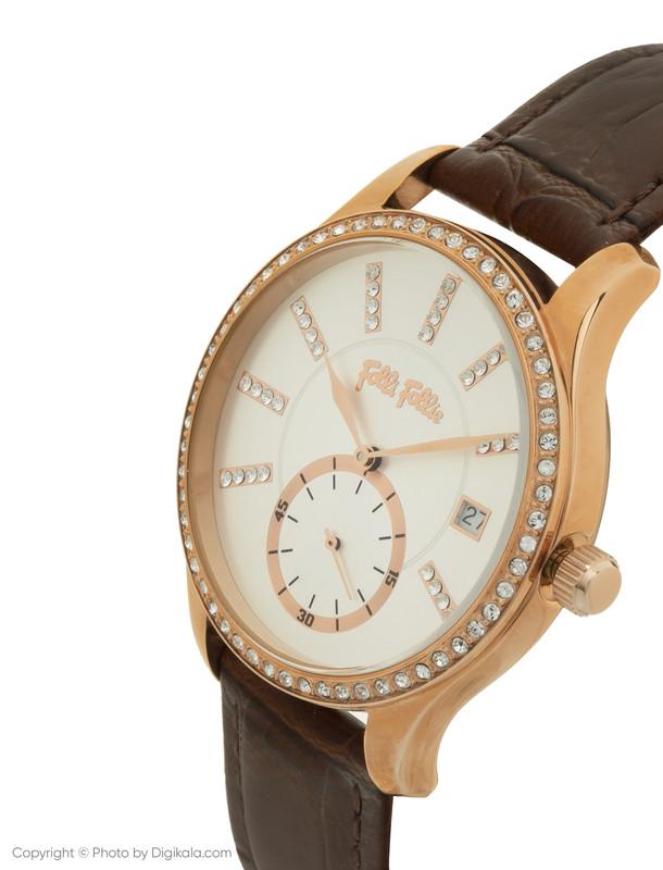 ساعت مچی عقربه ای زنانه فولی فولیه مدل WF18B004STS-BR (بدون جعبه اورجینال)