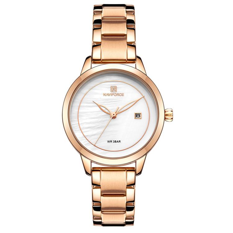 ساعت مچی عقربه ای زنانه نیوی فورس کد NF5008              خرید (⭐️⭐️⭐️)
