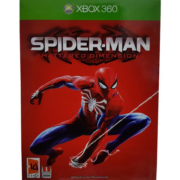 بازی Spider-Man Shattered Dimensions مخصوص xbox360