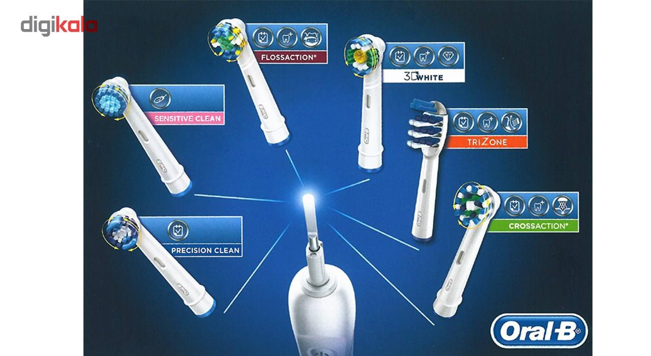 مسواک برقی اورال-بی مدل D12.513S Vitality Sensitive Clean main 1 9