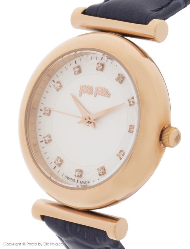 ساعت مچی عقربه ای زنانه فولی فولیه مدل WF16R022SSS-DB (بدون جعبه اورجینال)