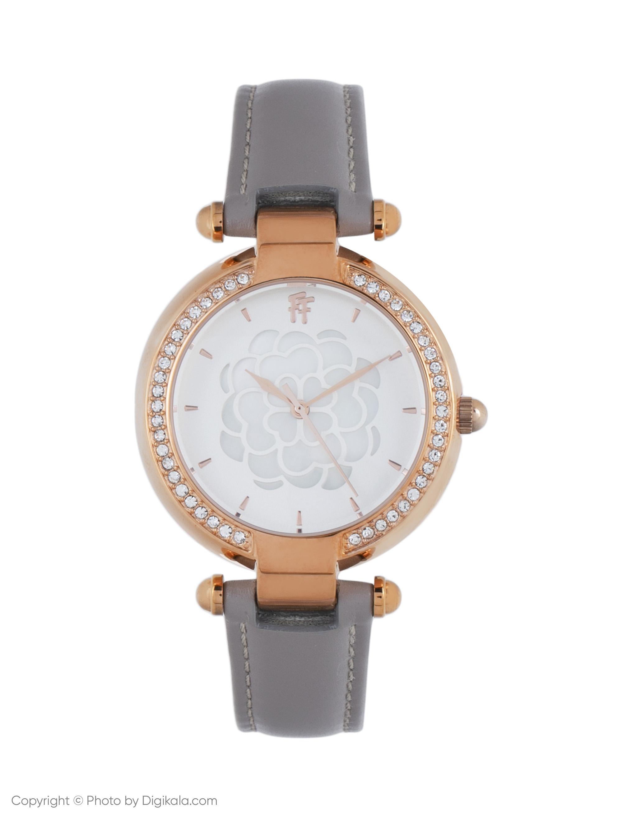 ساعت مچی عقربه ای زنانه فولی فولیه مدل WF15B037SPW-GA (بدون جعبه اورجینال)              ارزان