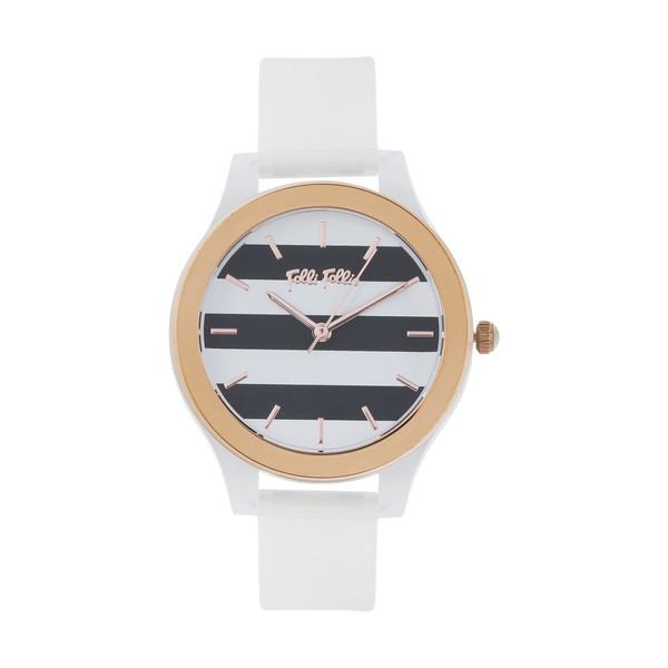 ساعت مچی عقربه ای زنانه فولی فولیه مدل WF18P010ZPW-WH (بدون جعبه اورجینال)