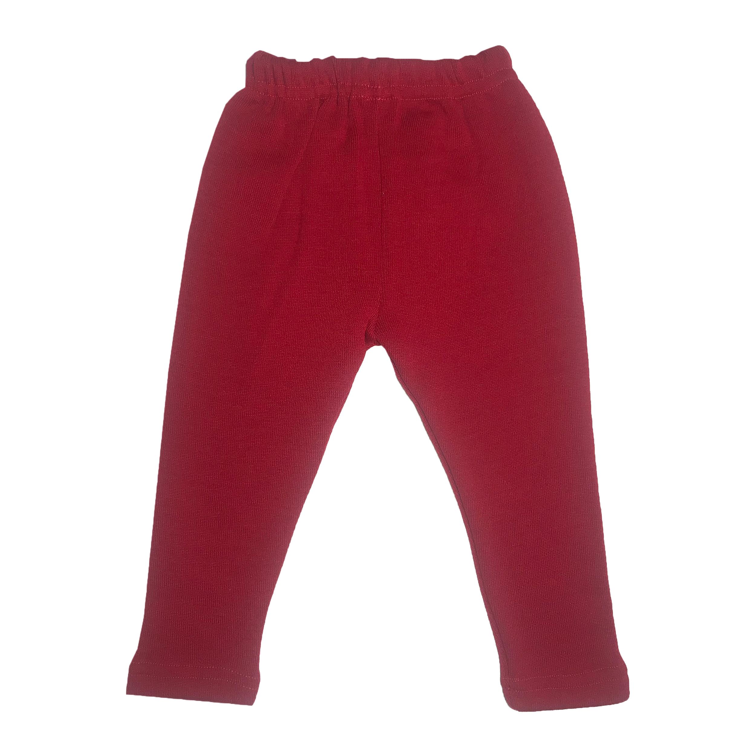 شلوار بچگانه کد Tr-101 رنگ قرمز