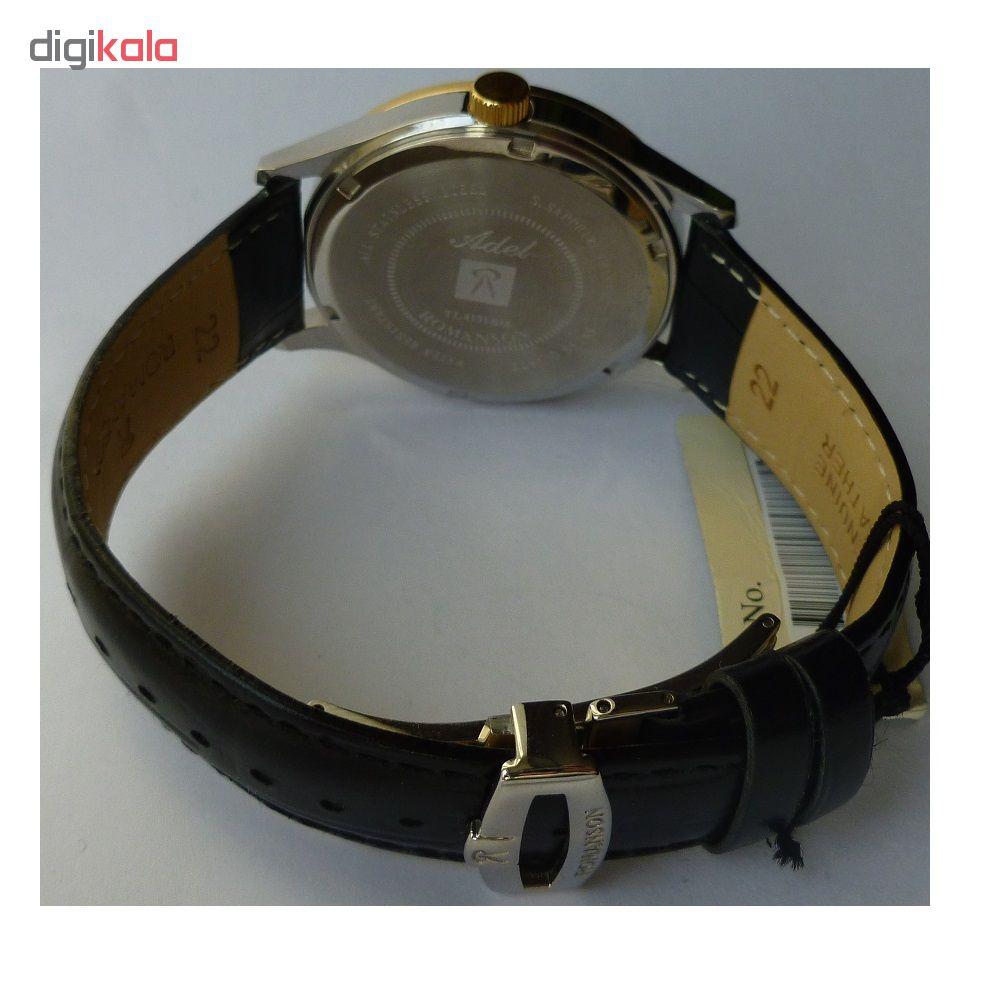 کد تخفیف                                      ساعت مچی عقربه ای مردانه رومانسون مدل TL4131BM1CA31G