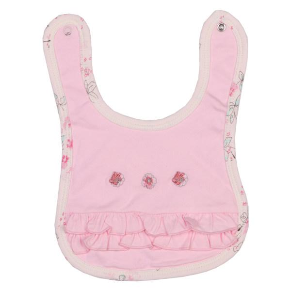 پیشبند نوزادی نیلی مدل لیانا کد 08022
