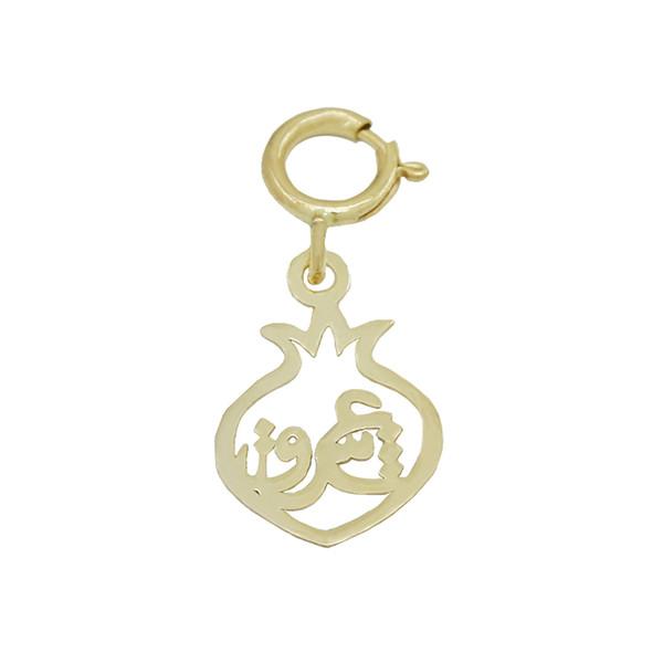 آویز گردنبند طلا 18 عیار زنانه مایا ماهک مدل MM0975