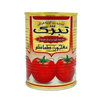 رب گوجه فرنگی تبرک مقدار 400 گرم