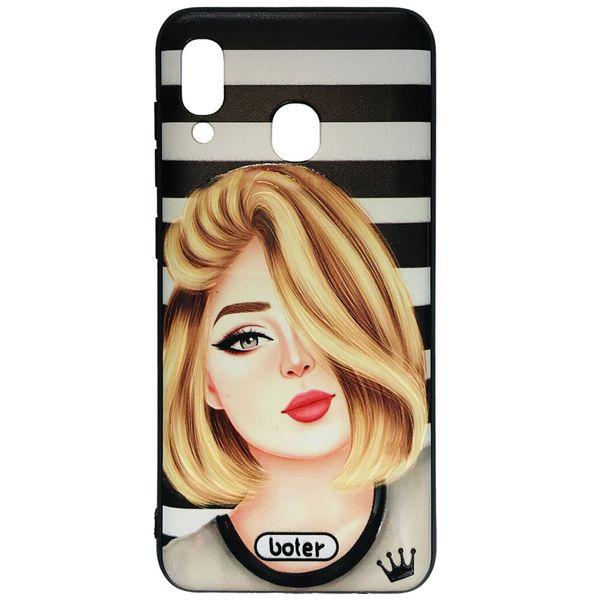 کاور طرح Girl کد 0132 مناسب برای گوشی موبایل سامسونگ Galaxy A20