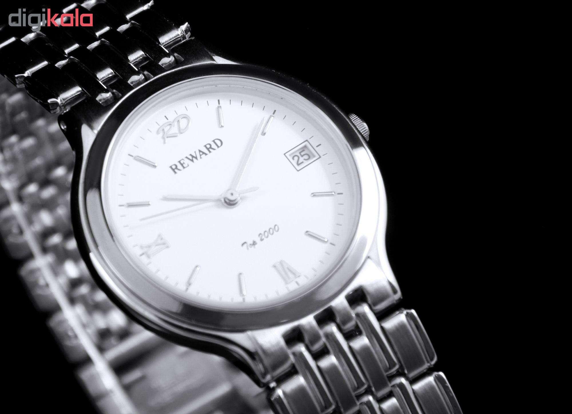 کد تخفیف                                      ساعت مچی عقربه ای ریوارد کد SN-BJ006G-2-SS