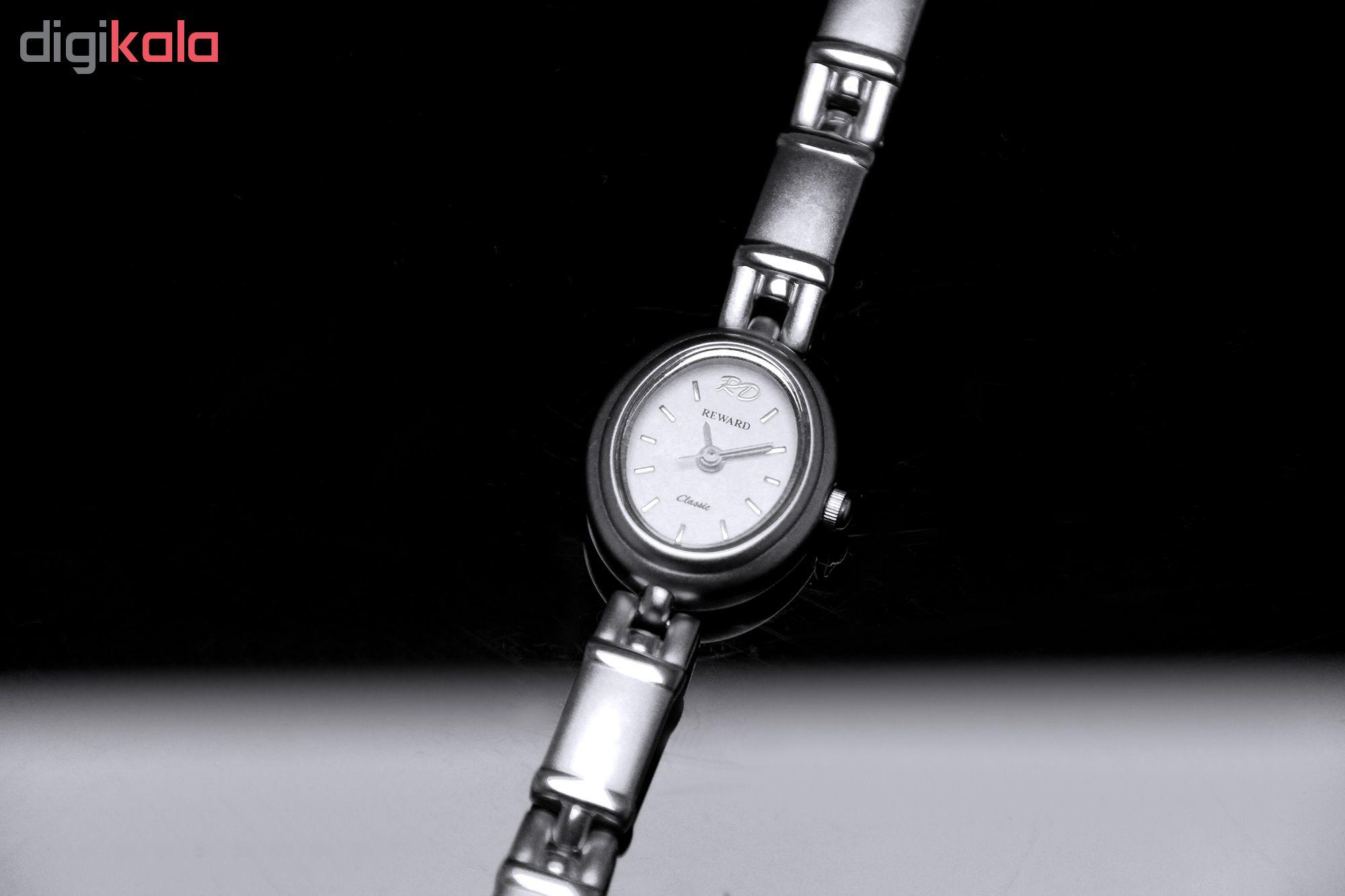 ساعت مچی عقربه ای زنانه ریوارد کد SN-7017-SS