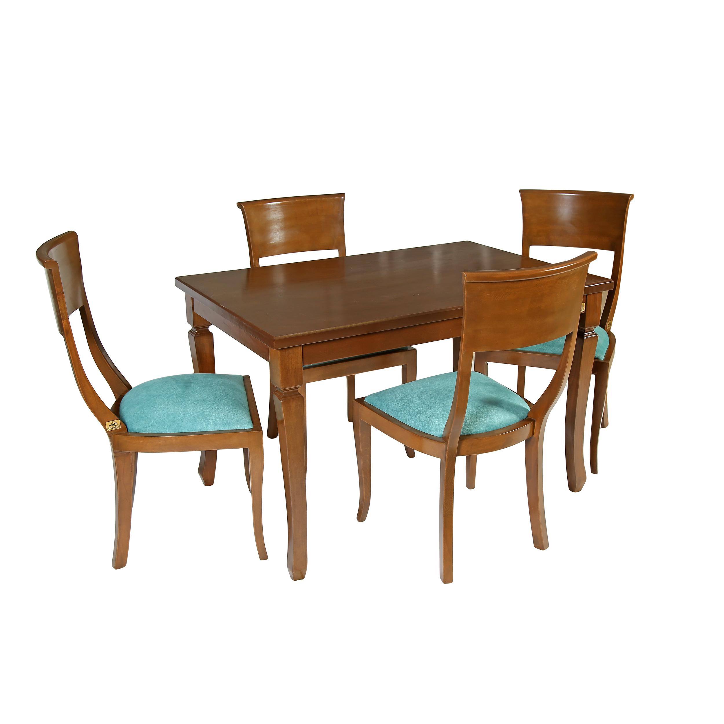 میز و صندلی ناهار خوری چوبکو مدل 691