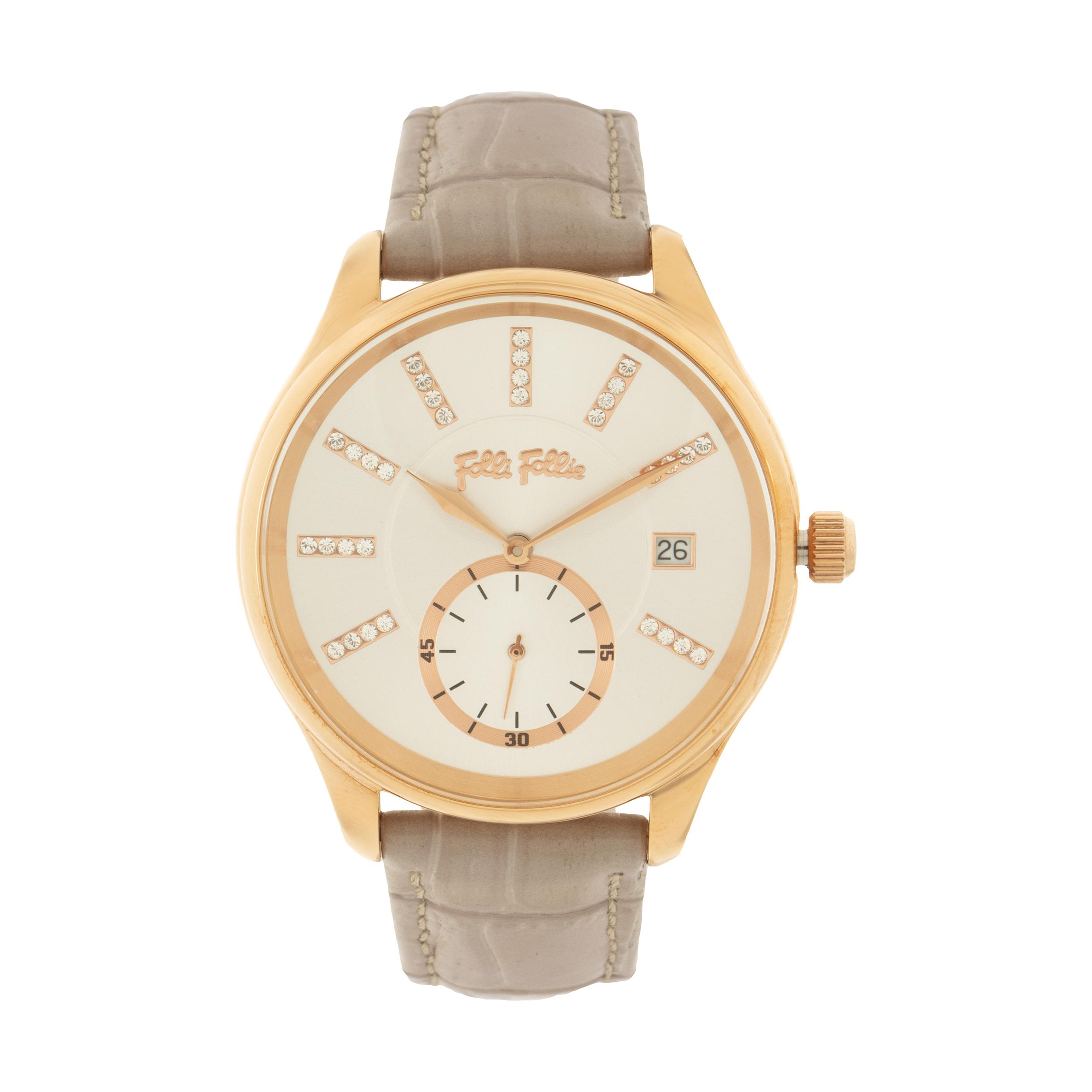 ساعت مچی عقربه ای زنانه فولی فولیه مدل WF18R004STS-GA (بدون جعبه اورجینال)              خرید (⭐️⭐️⭐️)