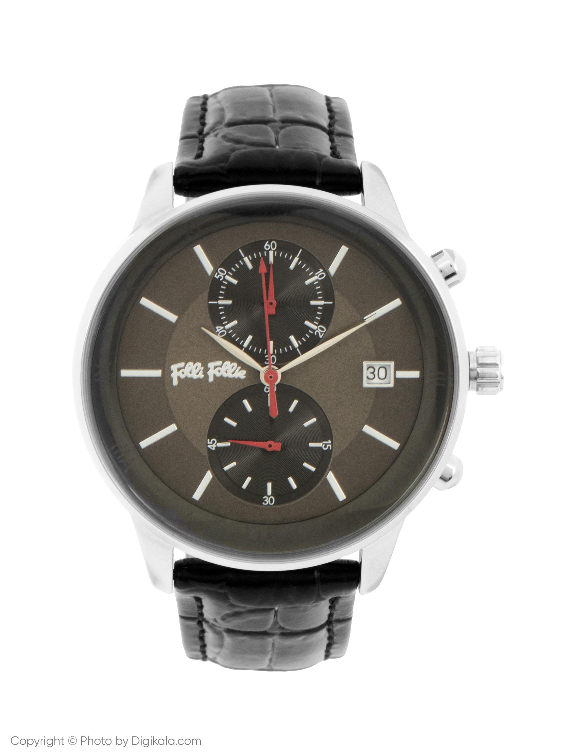 ساعت مچی عقربه ای زنانه فولی فولیه مدل WF18T005SEA-BK (بدون جعبه اورجینال)