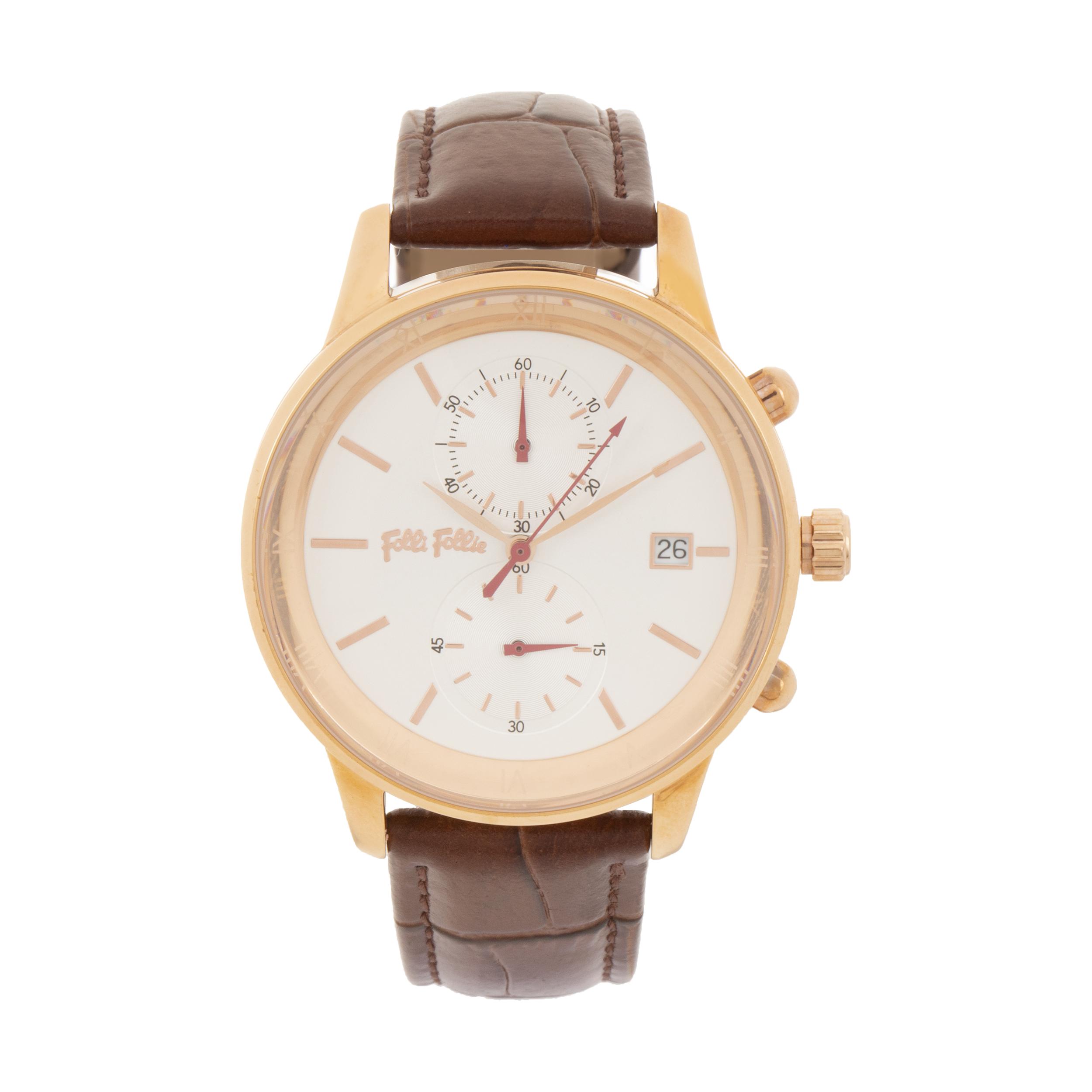 ساعت مچی عقربه ای زنانه فولی فولیه مدل WF18R005SEZ-BR (بدون جعبه اورجینال)              خرید (⭐️⭐️⭐️)
