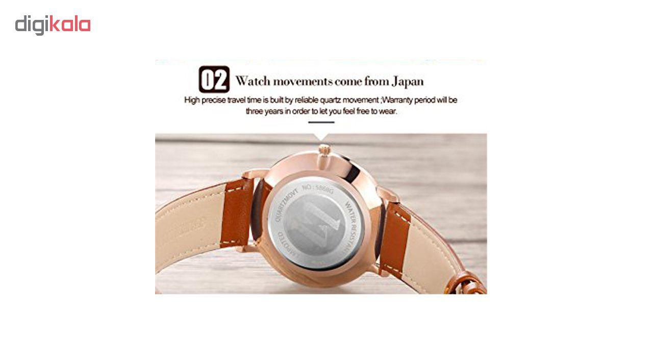 ساعت مچی عقربه ای زنانه اُ لِوز مدل 5869B              خرید (⭐️⭐️⭐️)