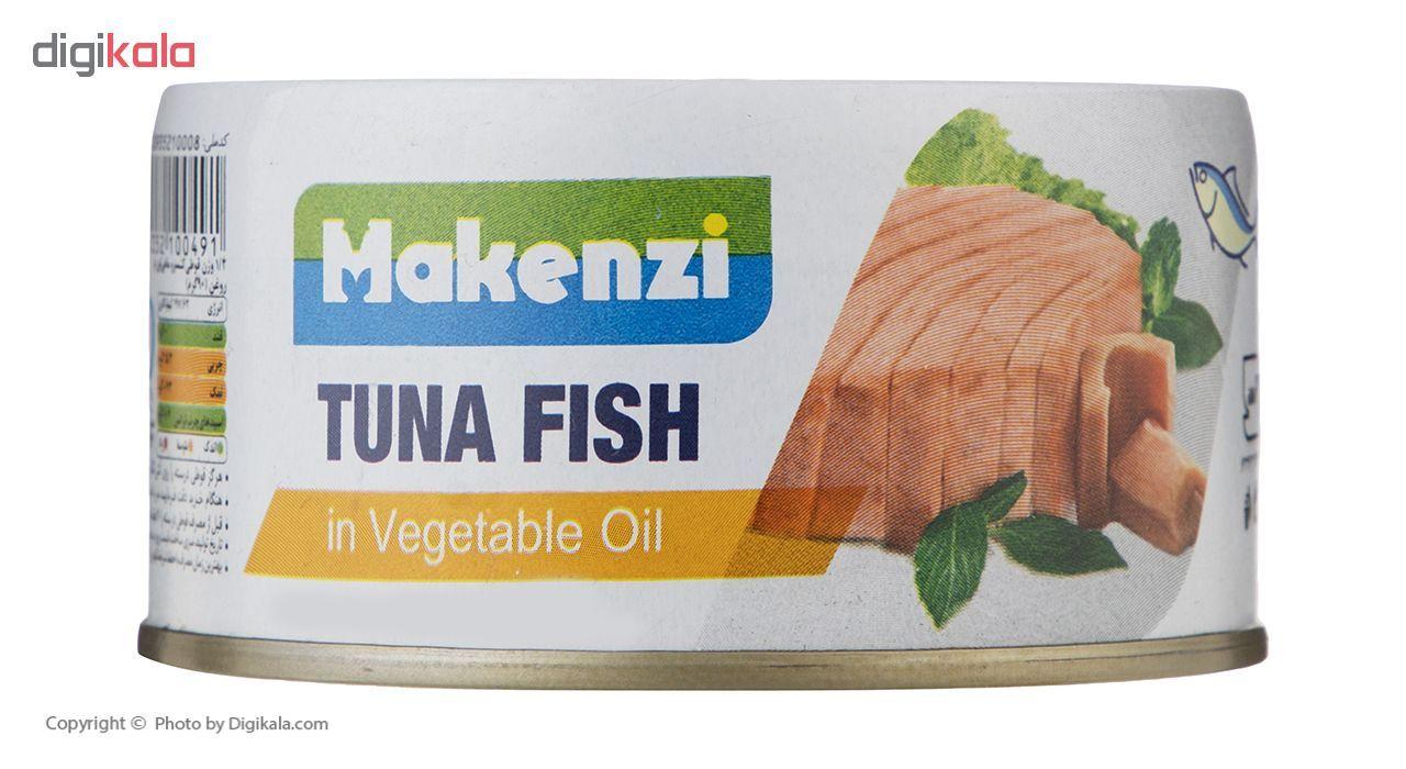 کنسرو ماهی تون مکنزی در روغن گیاهی  مقدار 180 گرم main 1 4