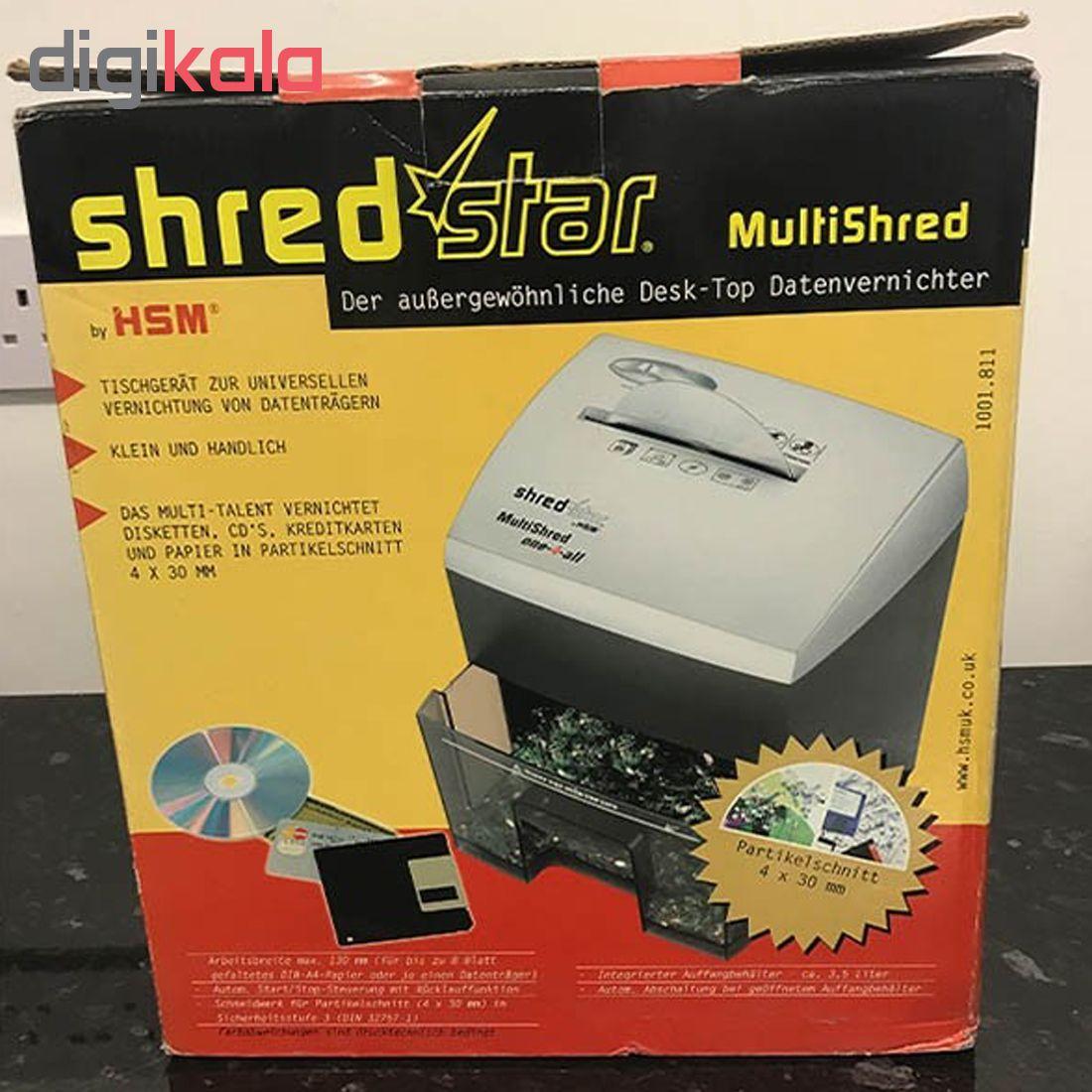قیمت                      کاغذخردکن اچ اس ام مدل MultiShred