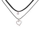گردنبند زنانه طرح قلب کد GT1016