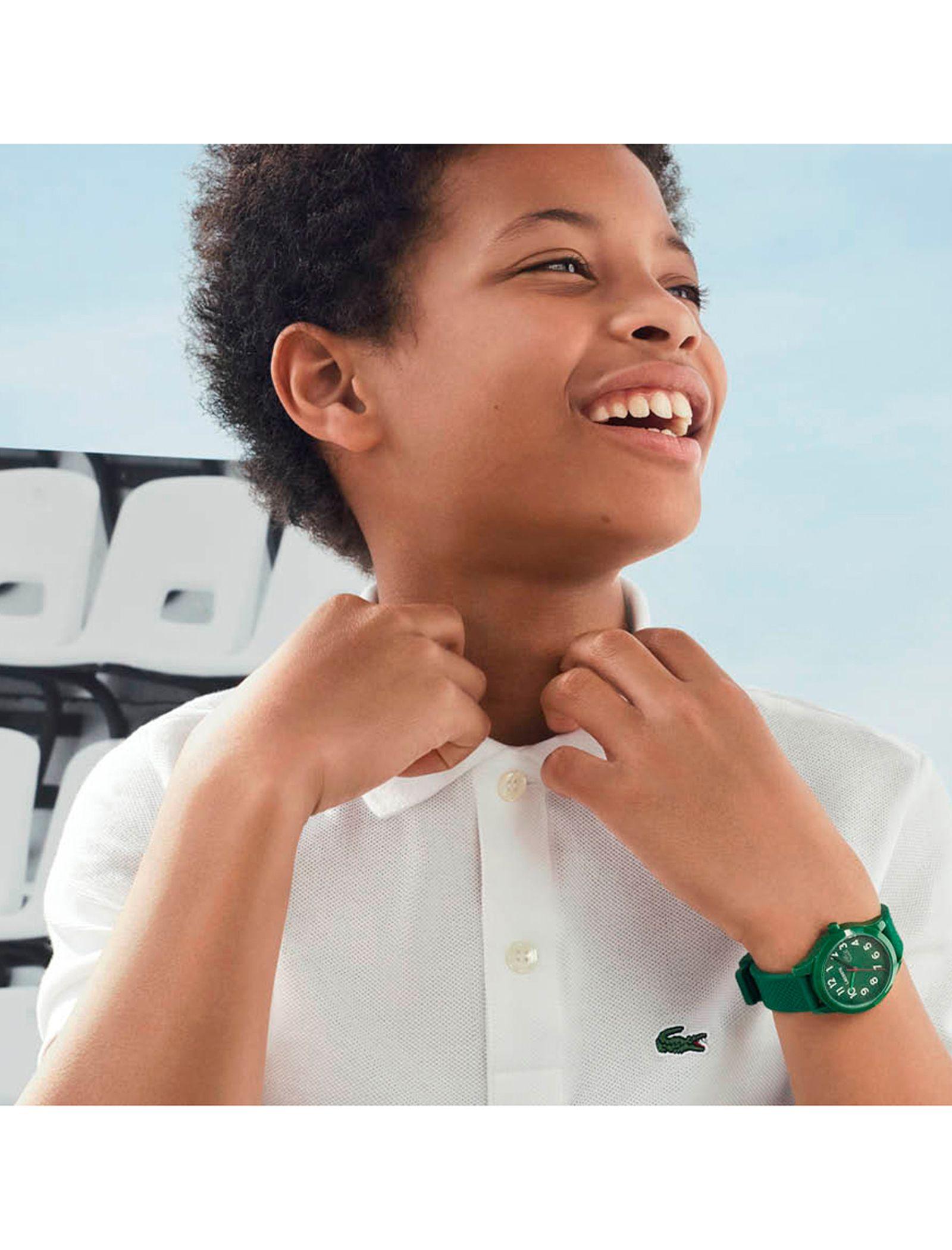 ساعت مچی عقربه ای بچگانه لاگوست مدل 2030001 - سبز - 1