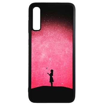 کاور طرح دختر کد 43176 مناسب برای گوشی موبایل سامسونگ galaxy a70