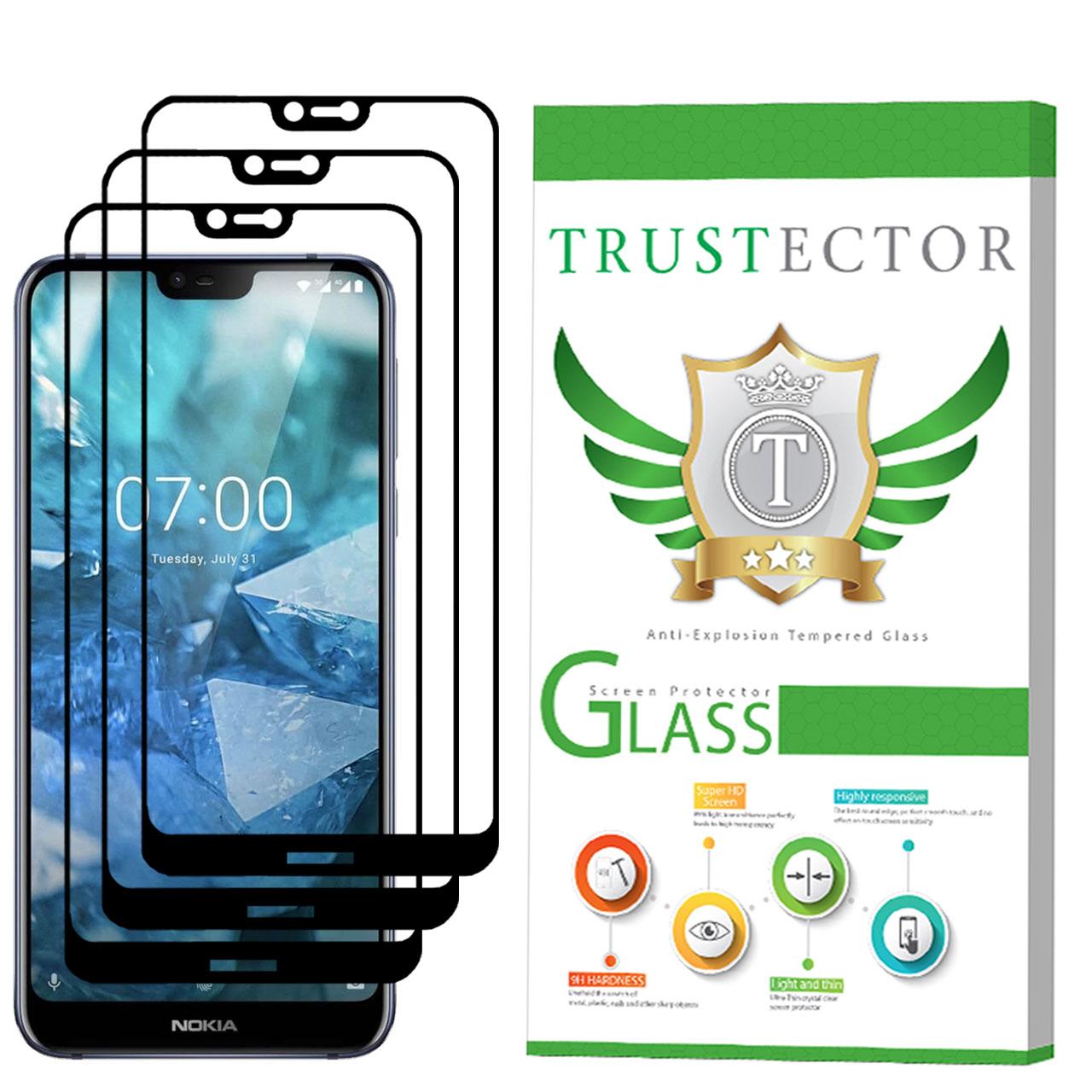 محافظ صفحه نمایش تراستکتور مدل GSS مناسب برای گوشی موبایل نوکیا 7.1 بسته 3 عددی