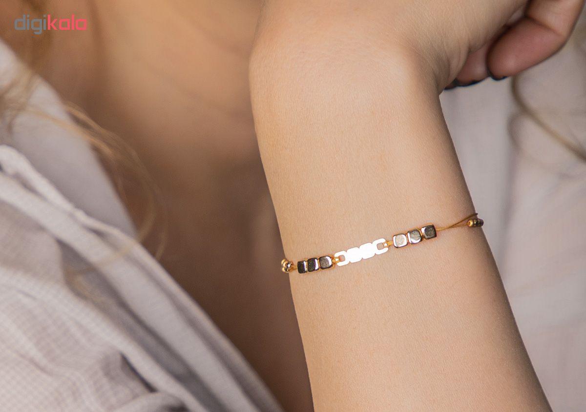 دستبند طلا 18 عیار زنانه ریسه گالری کد Ri3-H1170 main 1 7