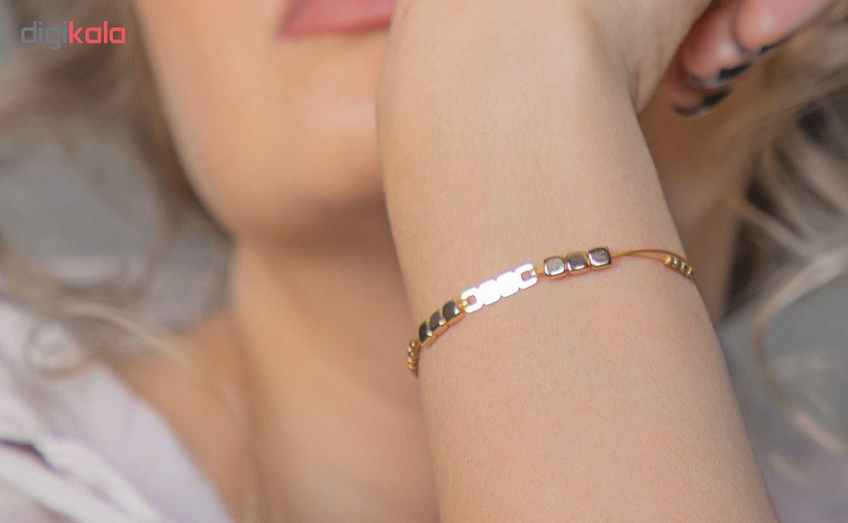 دستبند طلا 18 عیار زنانه ریسه گالری کد Ri3-H1170 main 1 8