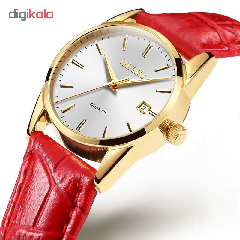 ساعت مچی عقربه ای زنانه اُ لِوز مدل 6898R              خرید (⭐️⭐️⭐️)