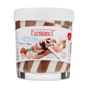 کرم کاکائو فندقی شیری فرمند - 200 گرم