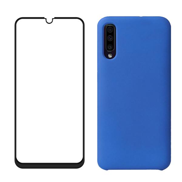 کاور مدل bjn مناسب برای گوشی موبایل سامسونگ Galaxy A30S به همراه محافظ صفحه نمایش