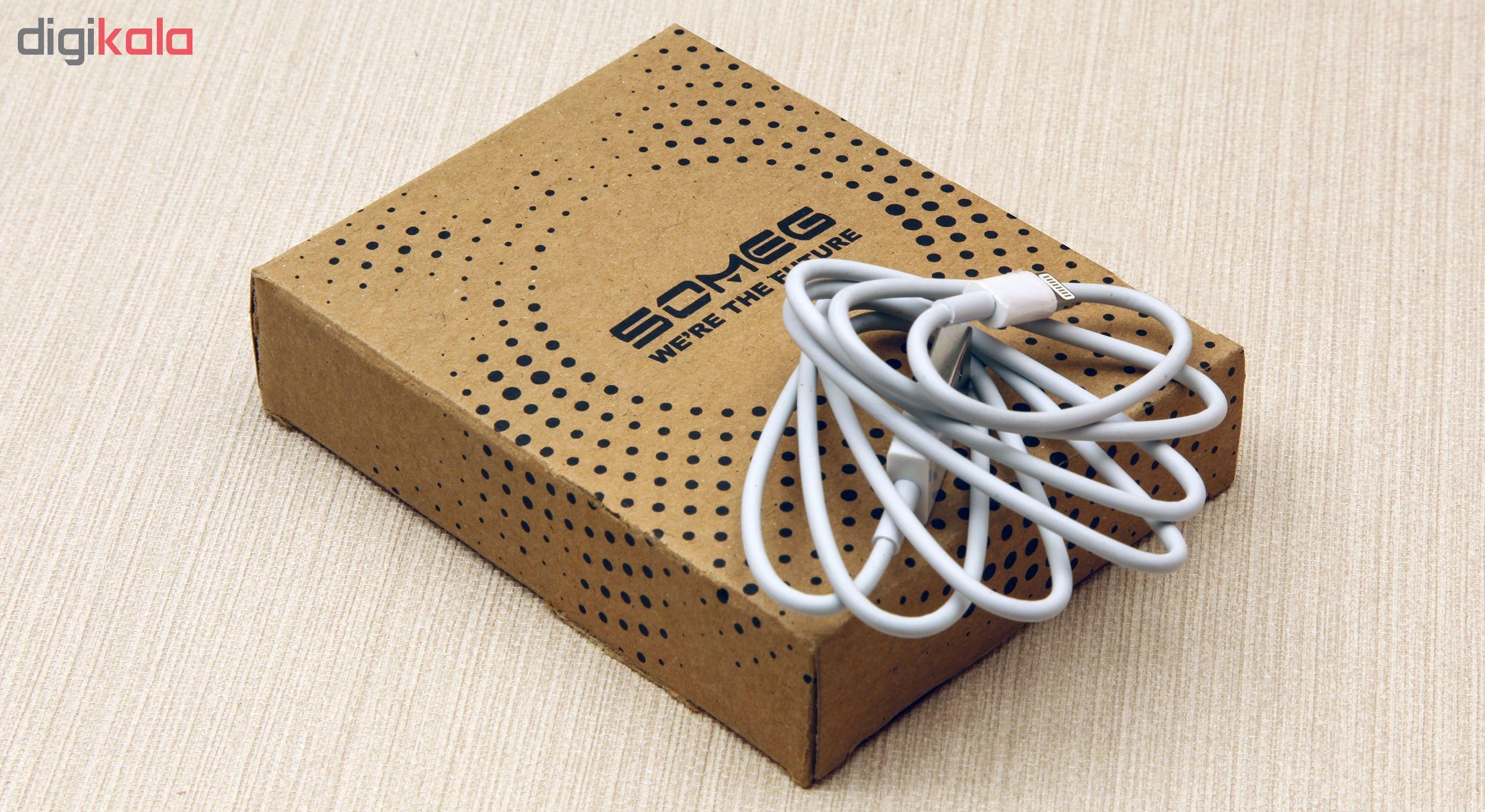 کابل تبدیل USB به لایتنینگ سومگ مدل 001 طول 1 متر main 1 6