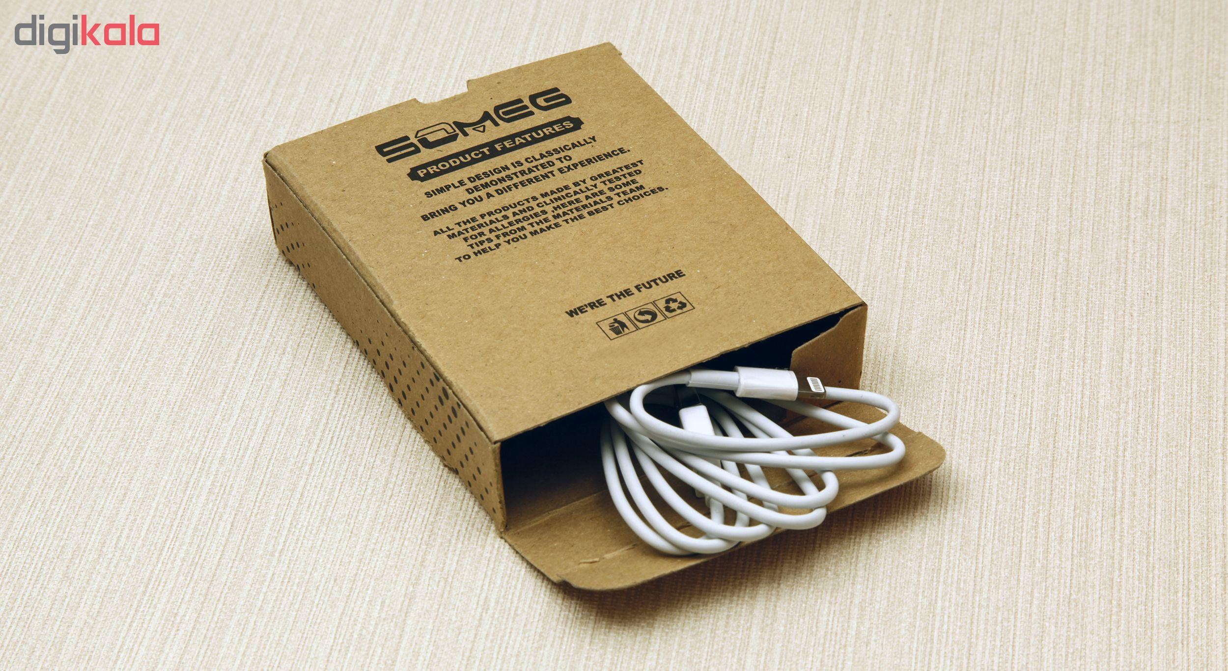 کابل تبدیل USB به لایتنینگ سومگ مدل 001 طول 1 متر main 1 8