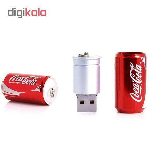 فلش مموری طرح کوکاکولا مدل Ul-Co01 ظرفیت 64 گیگابایت