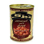 کنسرو لوبیا چیتی در سس گوجه فرنگی تبرک مقدار 380 گرم thumb