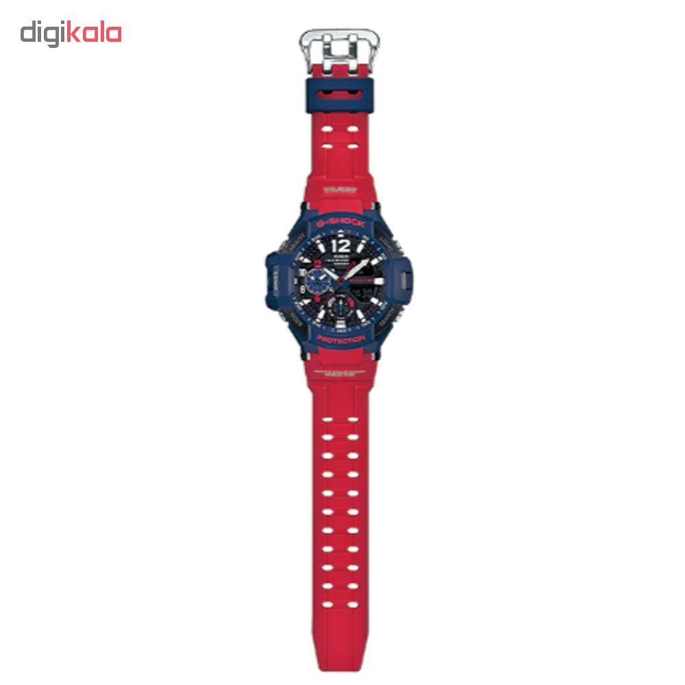 کد تخفیف                                      ساعت مچی عقربه ای مردانه کاسیو مدل جی شاک کد GA-1100-2A