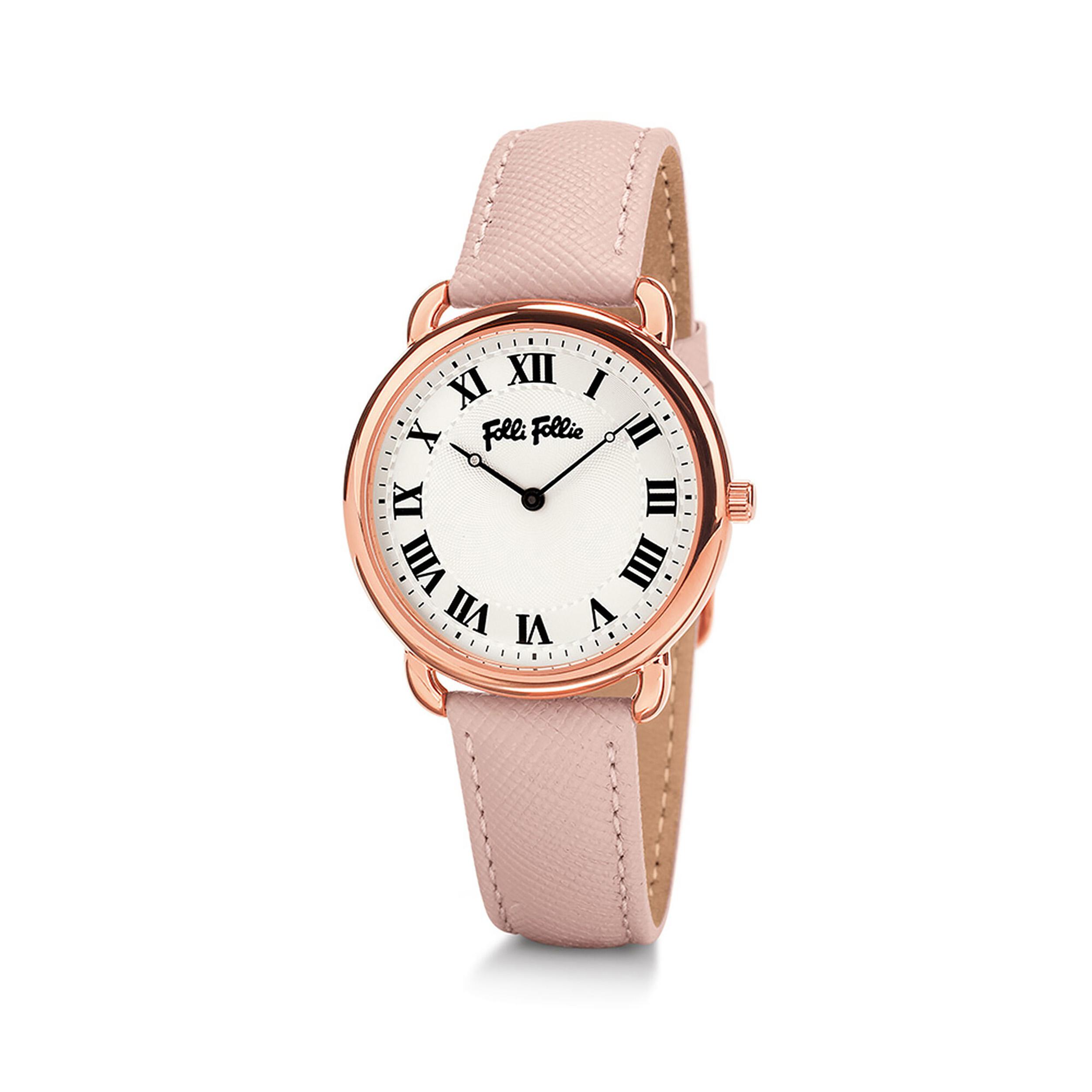 ساعت مچی عقربه ای زنانه فولی فولیه مدل WF16R013SPS-PI (بدون جعبه اورجینال)