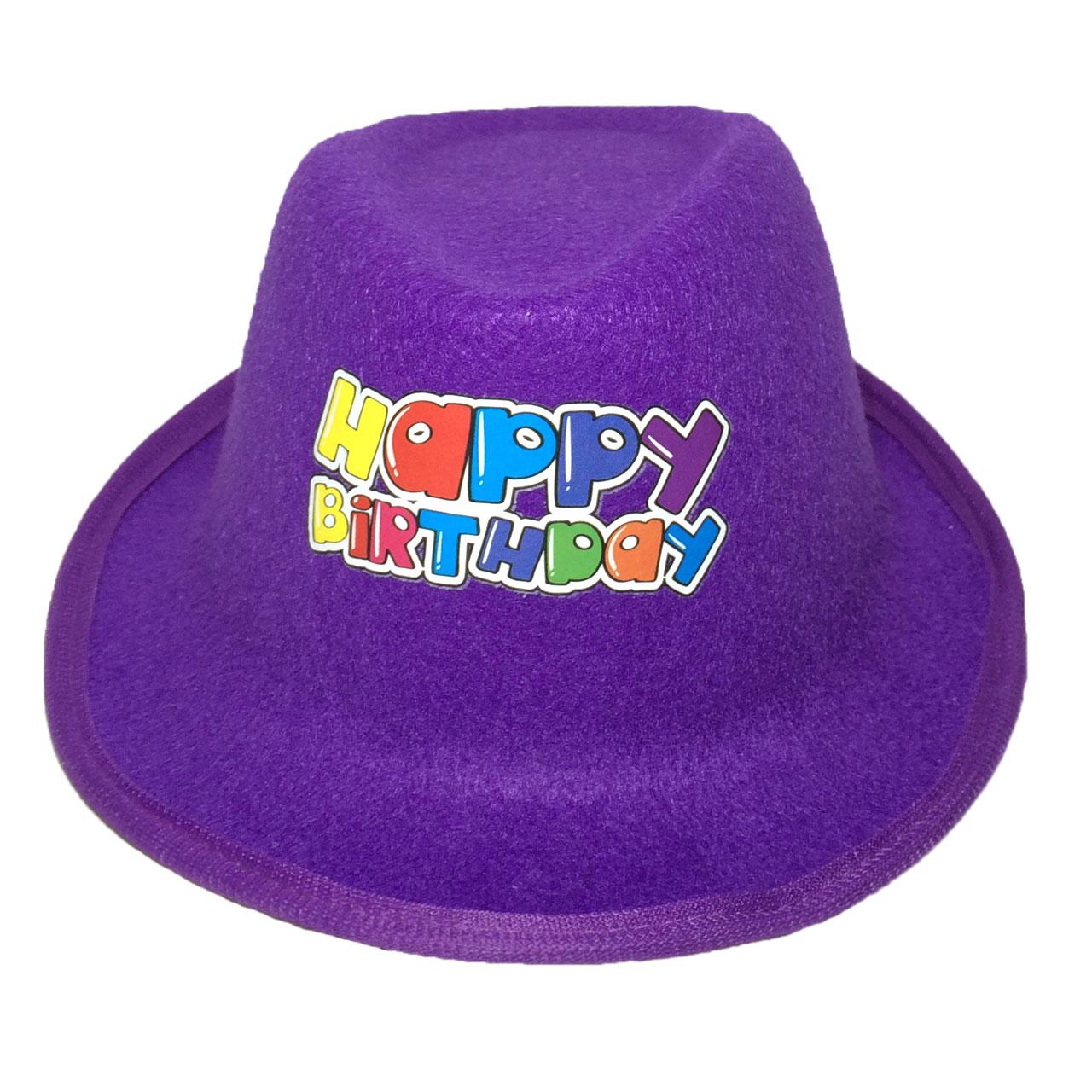 عکس کلاه جشن تولد طرح Happy Birthday کد 2
