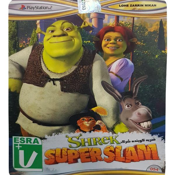 بازی Shrek SuperSlam مخصوص PS2 نشر لوح زرین
