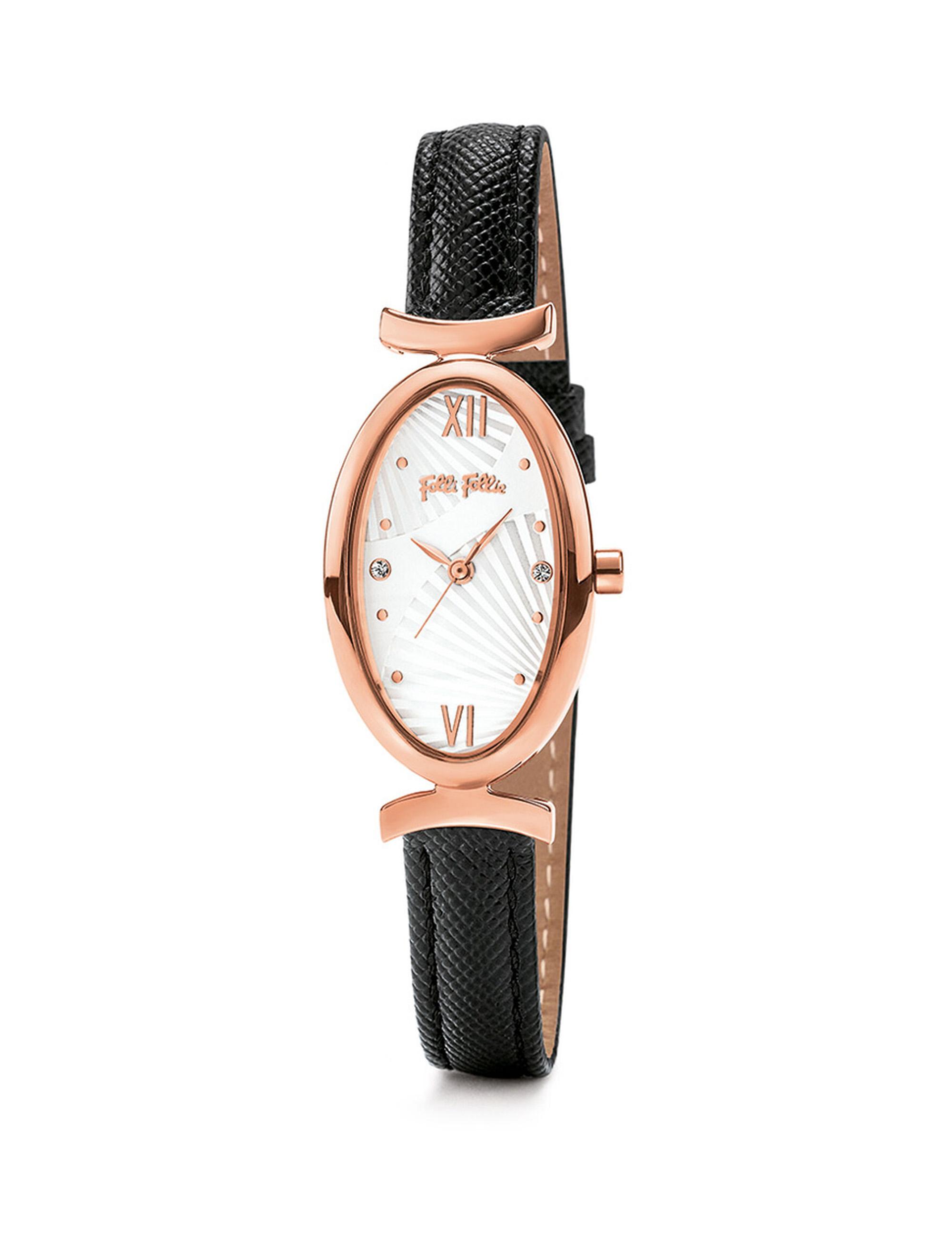 ساعت مچی عقربه ای زنانه فولی فولیه مدل WWF16R031SSS-BK (بدون جعبه اورجینال)              ارزان