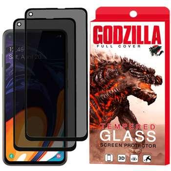 محافظ صفحه نمایش حریم شخصی گودزیلا مدل GGP مناسب برای گوشی موبایل سامسونگ Galaxy A60 بسته 2 عددی