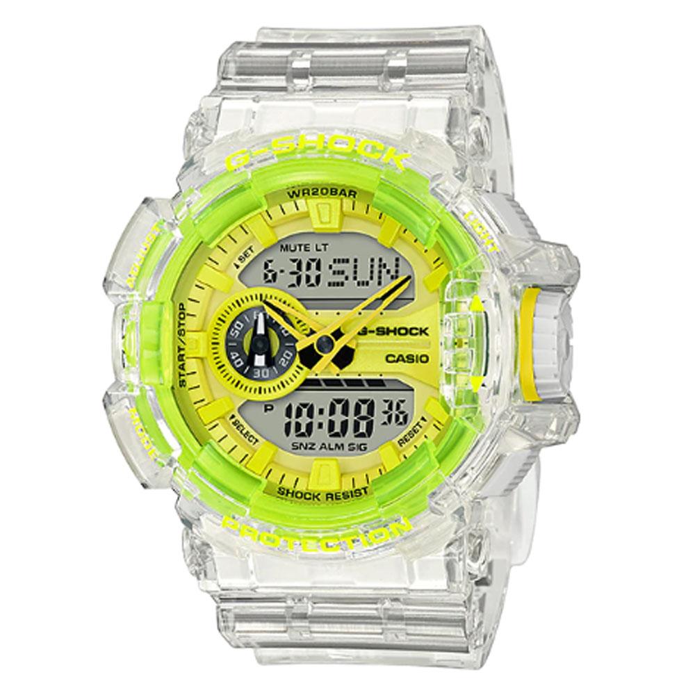 کد تخفیف                                      ساعت مچی عقربه ای مردانه کاسیو مدل جی شاک کد GA-400SK-1A9