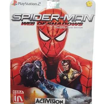 بازی Spider-Man Web of Shadows مخصوص PS2 نشر لوح زرین