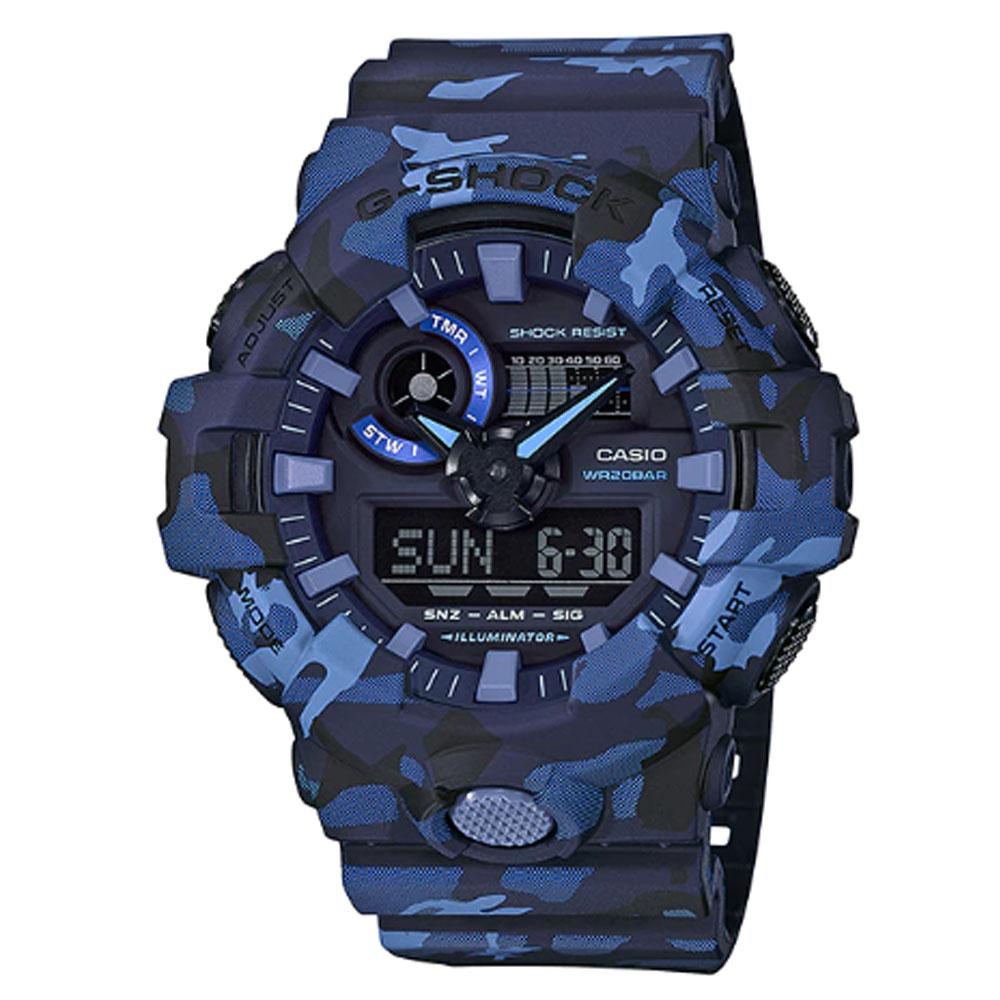 ساعت مچی عقربه ای مردانه کاسیو مدل جی شاک کد GA-700CM-2A