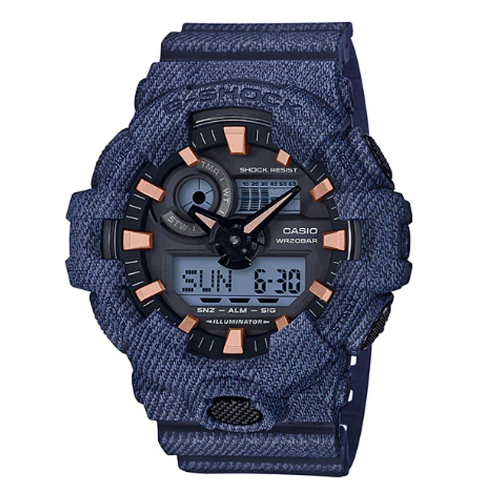 قیمت و خرید                      ساعت مچی عقربه ای مردانه کاسیو مدل جی شاک کد GA-700DE-2A