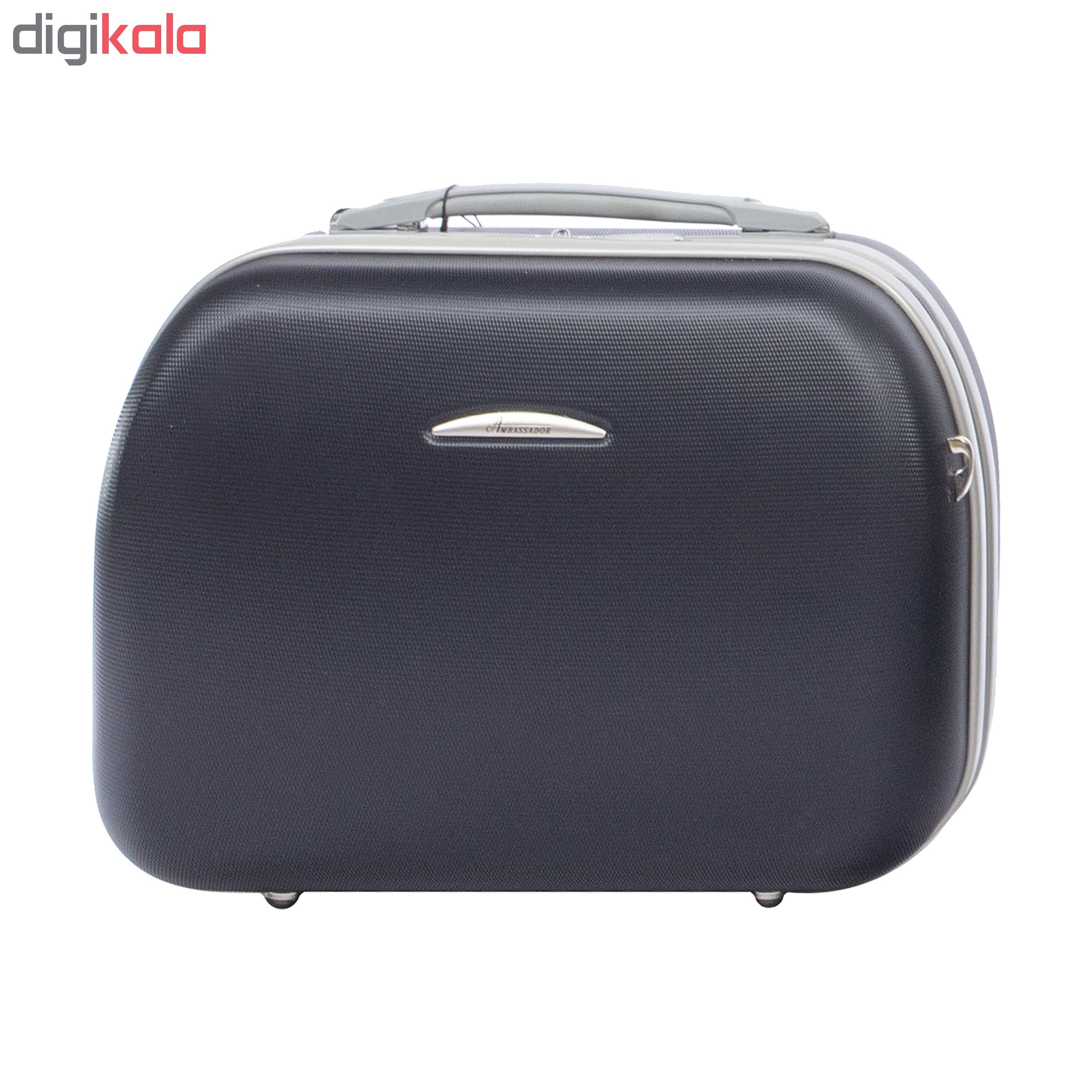 کیف لوازم شخصی سفری امباسادر مدل 1005