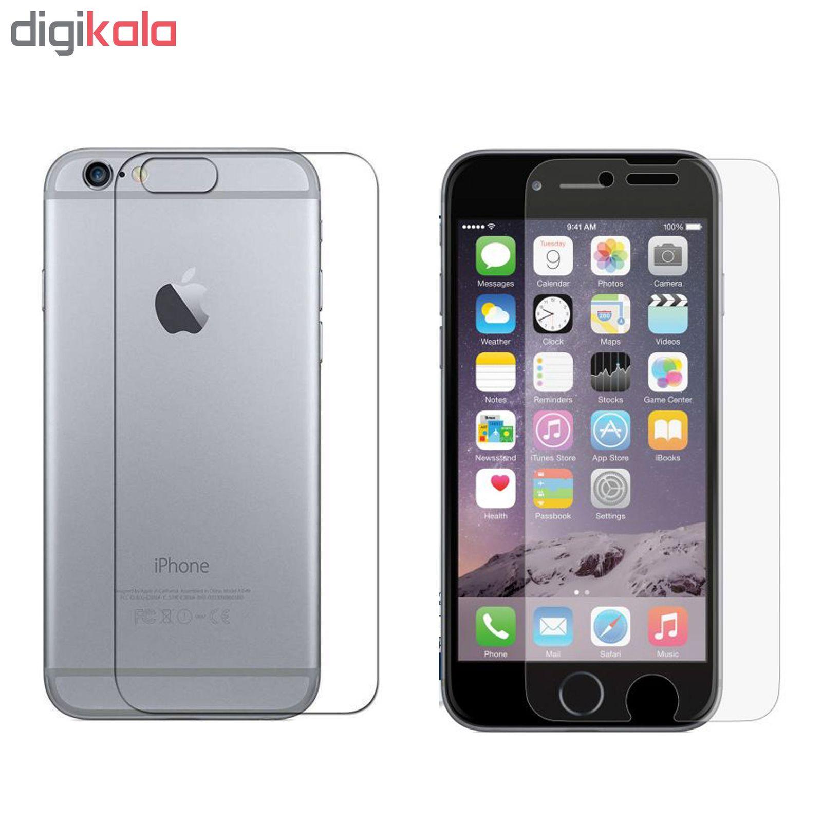 محافظ صفحه نمایش و پشت گوشی مدل Tm-01 مناسب برای گوشی موبایل اپل Iphone 6/ 6s main 1 1