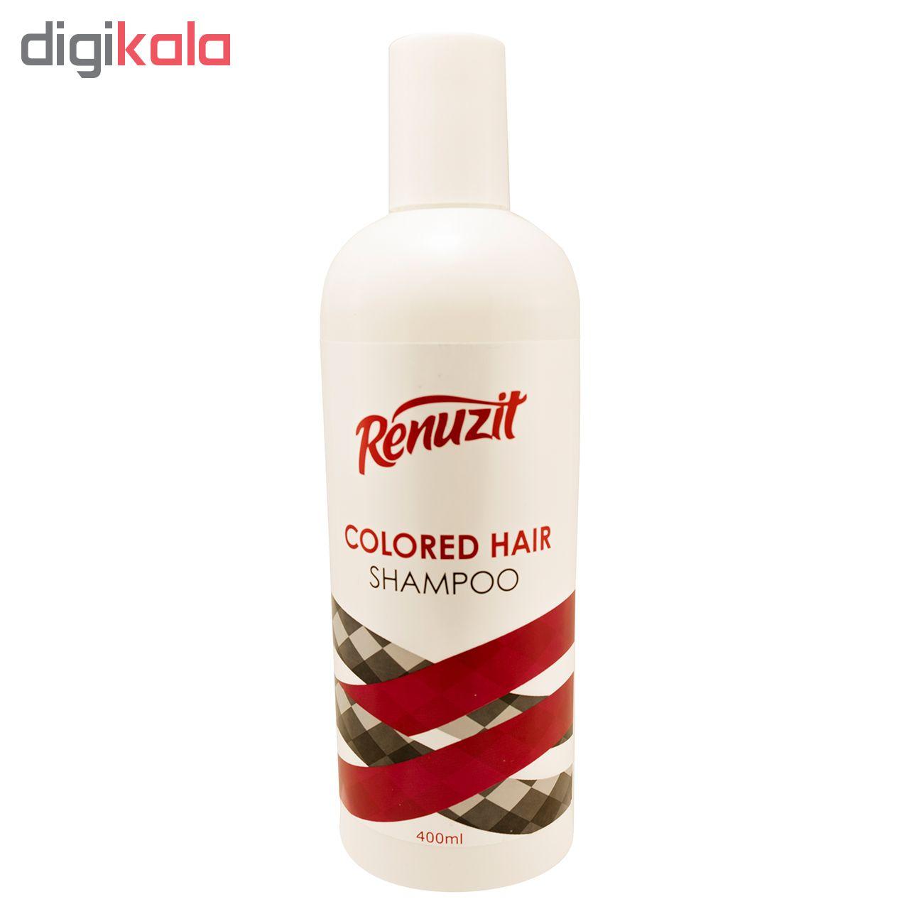 شامپو مو رینو زیت مدل COLORED HAIR حجم 400 میلی لیتر مجموعه 2 عددی main 1 2