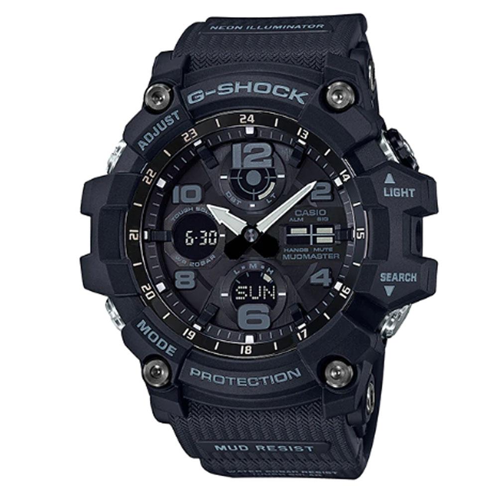 قیمت و خرید                      ساعت مچی عقربه ای مردانه کاسیو مدل جی شاک کد GSG-100-1A