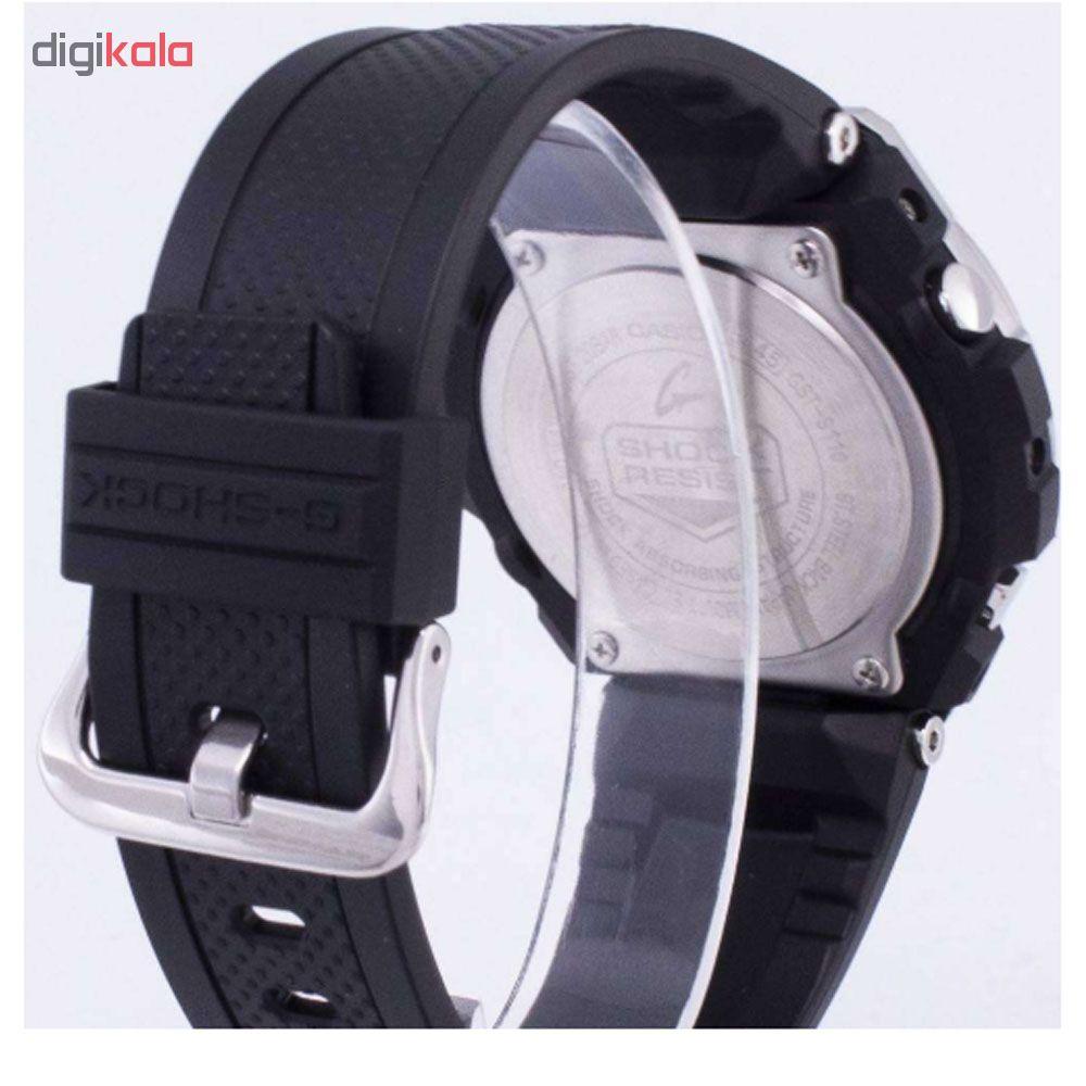 کد تخفیف                                      ساعت مچی عقربه ای مردانه کاسیو مدل جی شاک کد GST-S110-1A